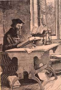 wycliffe writing